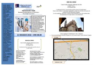 MEETING Pluridisciplinare su Tecniche e Tecnologie Innovative - Collegio TSRM di Bergamo